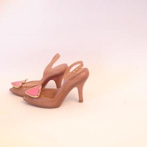 Vivienne Westwood Shoes - Melissa Vivienne Westwood Lady Dragon Heart Lychee